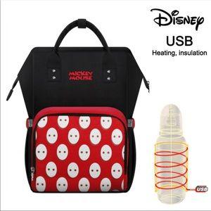 Disney Diaper Bag Mommy Backpack/Bottle Warmer